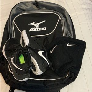Volleyball Backpack & Shoes Bundle